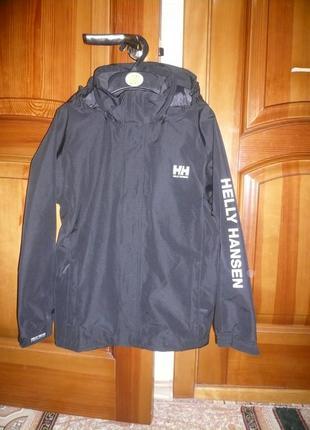 Крутой дождевик куртка ветровка helly hansen 140 см 10 лет