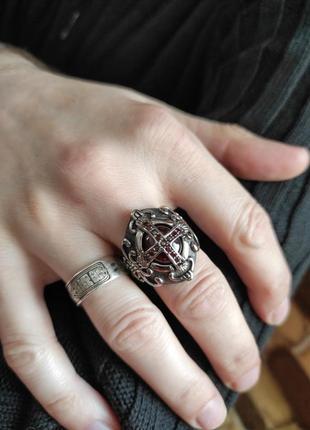 """Перстень """"князь"""" из медицинской стали 316l."""