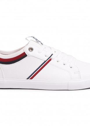 Белые оригинальные кеды кроссовки levis 38 размера