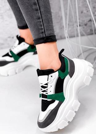 Модные молодежные женские кроссовки