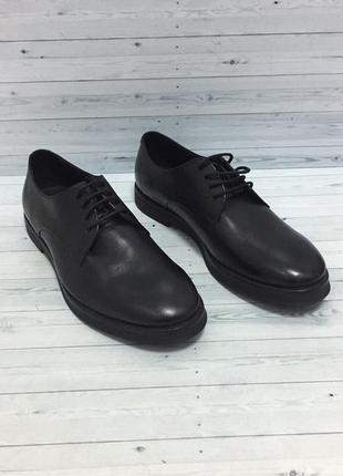 Классические туфли zara италия натуральная кожа