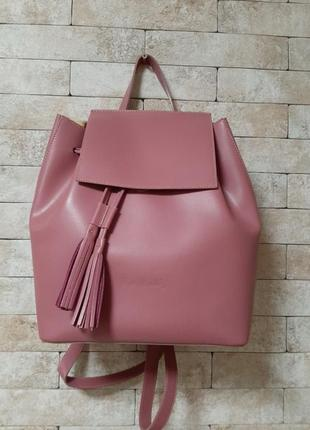 Кожаный рюкзак 🎒
