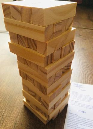 Дженга гра настільна вежа