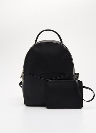 Рюкзак с сумкой саше