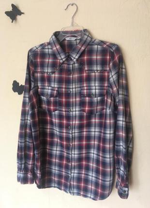 Рубашка в клетку new look 14