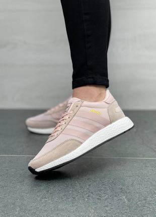 Adidas iniki runner pink4 фото