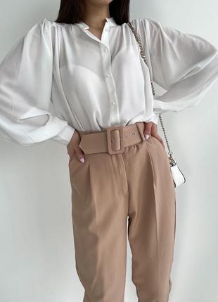 Блуза с объемными рукавами❣️