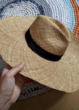 Шляпа, капелюх соломенная oysho