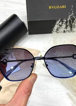 Сонцезахисні окуляри bvlgari сині