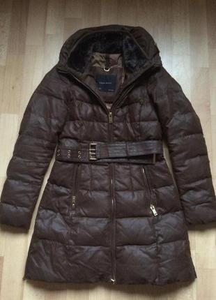 Пуховик куртка zara, пальто