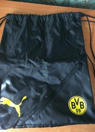 Спортивна сумка puma borussia dortmund. оригінал.!! нова.!!
