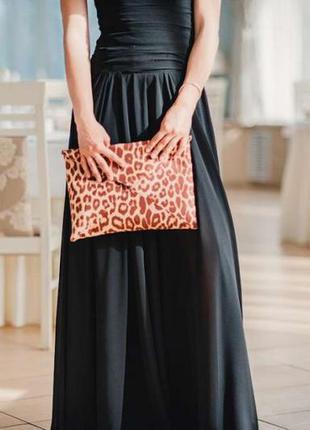 Обнова! стильный клатч сумка экомех