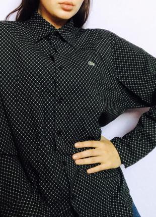 Рубашка lacoste  оригинал бренд