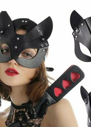 Эротическое белье, маска кошки, маска жешщина - кошка