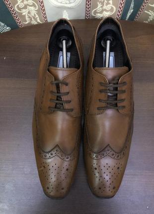 Новые мужские туфли-оксфорды немецкой фирмы туфли route 21