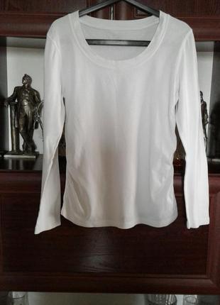 Фуфайка лонгслив футболка с длинным рукавом белая 2 a tee индонезия