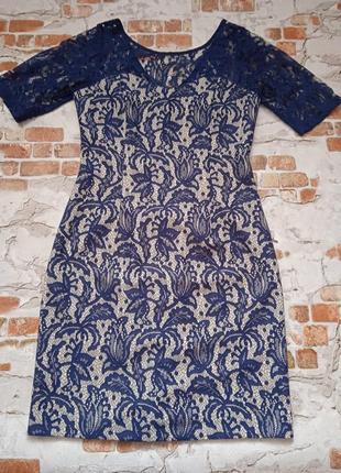 Красивое платье с кружевом next