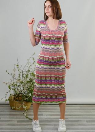 Облегающие платье миди  md vera