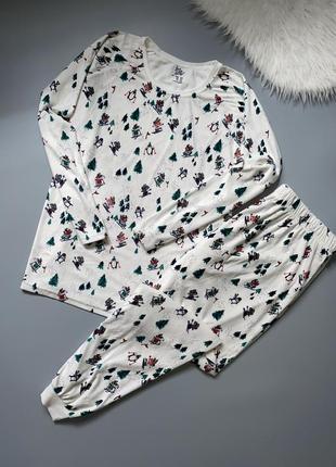 Женская пижама домашний костюм