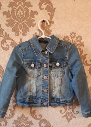 Джинсовой пиджак