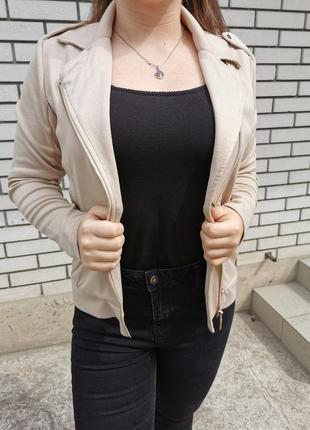 Тканевая косуха куртка