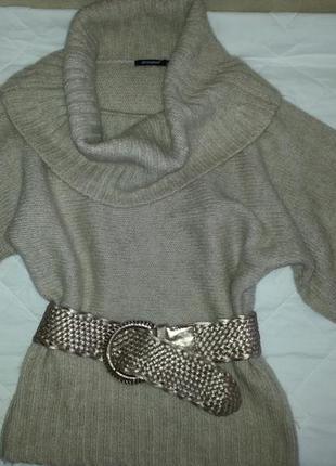 Теплый мягкий пуловер , свитер , джемпер crem-capuchino2