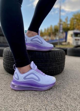 Женские кроссовки nike air max 720 purple#найк