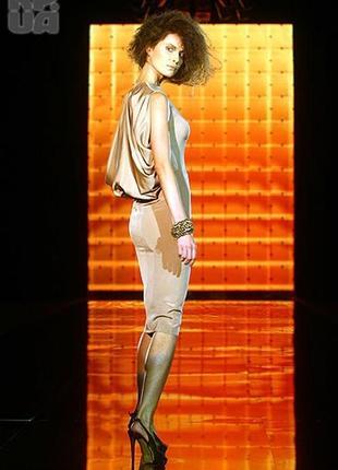 Подиумное платье от gromova design