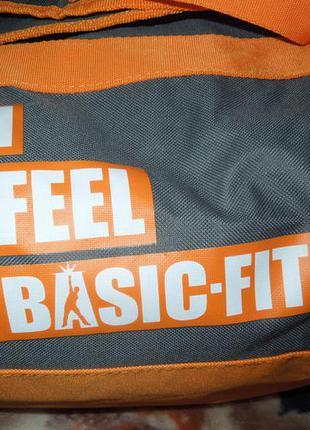 Сумка рюкзак спортивная basic-fit