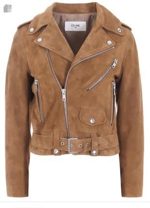 Брендовая косуха кожанка куртка