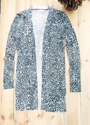 Кардиган серый леопард marks & spencer