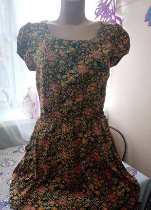 Платье летнее,лето,легкое с карманами