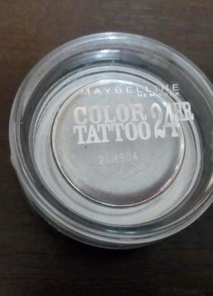 Тени maybelline color tattoo