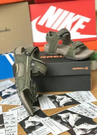 Мужские оригинальные сандали merrell sandspur oak j000419