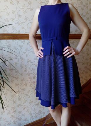 Отличное синее платье фирмы вgl