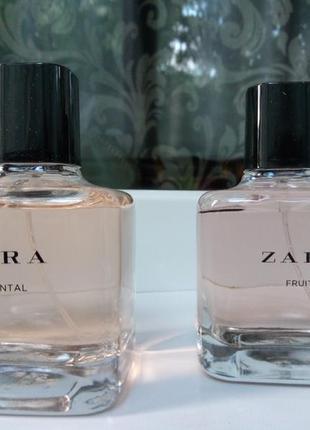 Zara духи oriental, fruity