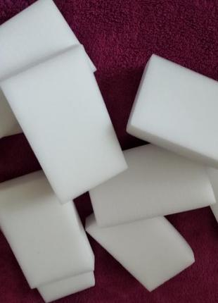 Меламінові губки 10*6*2 ( 10 шт)