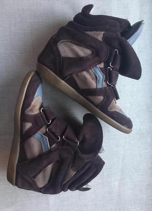 Фирменные кроссовки isabel marant
