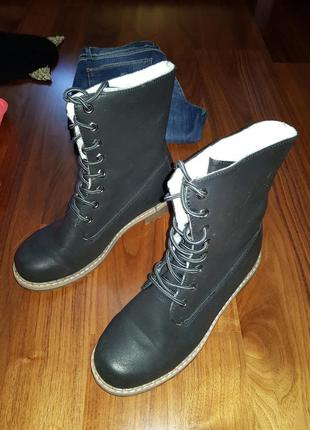 Утепленные ботинки на осень-зиму