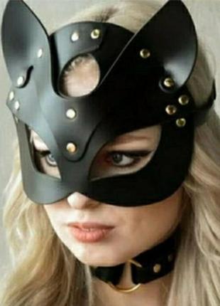 Эротическое белье, маска кошки, маска  женщина-кошка
