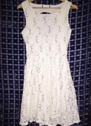 Милое ажурное платьице, распродажа.