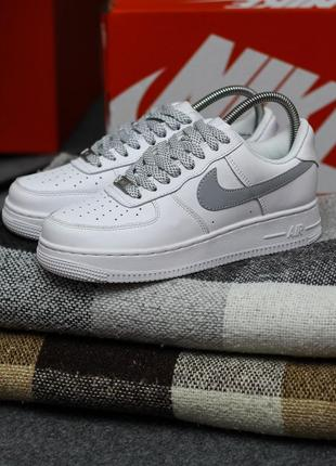 Кеды nike air force 1 reflective