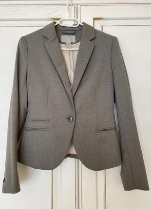 Пиджак красивого серого цвета h&m