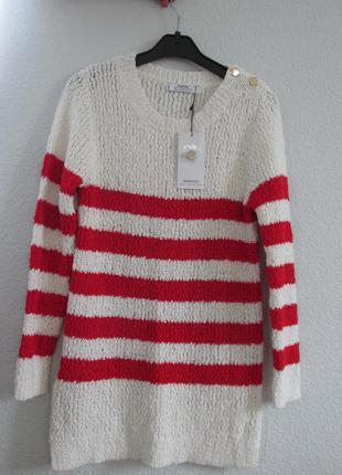 Хлопковый свитер от mango s