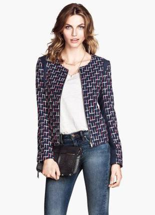 Короткий блейзер/ молодежный и прямой пиджак от h&m
