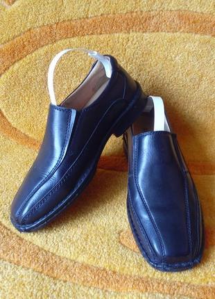 Кожаные ортопедические  туфли bama