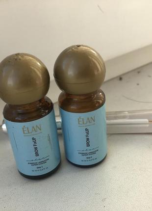 Составы  1, 2 elan для ламинирования ресниц