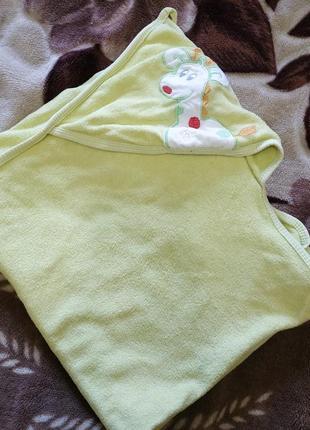 Детское полотенце для новорожденного