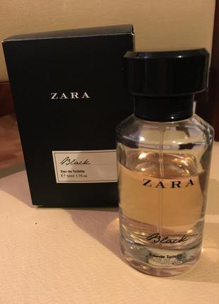 Zara black eau de toilette 50ml 1.7 fl oz туалетная вода духи