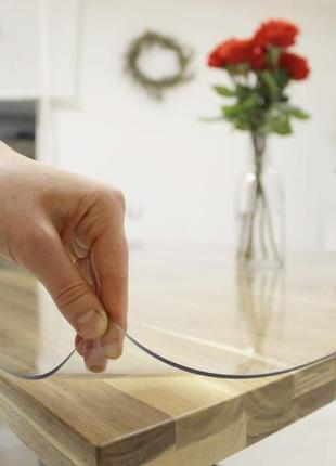 Мягкое стекло, защитная пленка на стол, столешницу